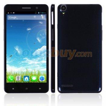 "Brandneues Dual SIM Handy ""Pomp C6"", MTK6589T Quad Core 1.5GHz, 2GB RAM, 32GB ROM, Android 4.2, 5.5 Zoll 1920*1080P, nur 7,9 mm dünn"