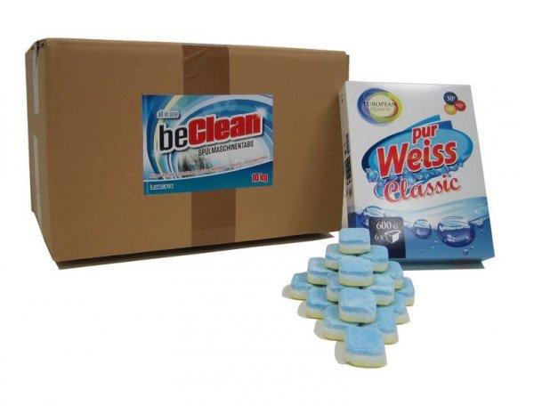 500 Spülmaschinentabs + Waschmittel-Probe für 14,89 Euro inkl. Versand