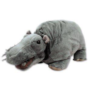 Bert das furzende Nilpferd aus NCIS + Hippo-Hausschuhe