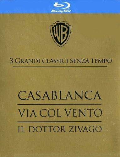 Vom Winde verweht / Casablanca / Doktor Schiwago [Blu-ray] für 22,35€ inkl. VSK @ Amazon.it