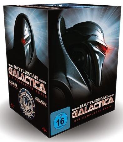 Battlestar Galactica – Die komplette Serie (Blu-ray) für nur 60 Euro inkl. Versand [MEDIA-DEALER] (Preisvergleich: mindestens 79,97 Euro)
