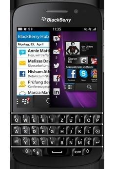 """[Amazon WHD] Blackberry Q10 - Zustand """"sehr gut"""""""