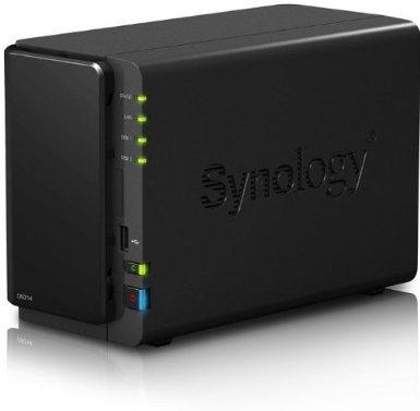 [Amazon] Synology DS214 Nas System mit 2 Platteneinschüben