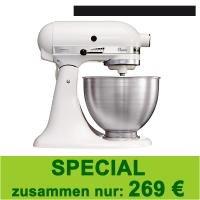 KitchenAid Classic weiß - 269€ - mit Zeitungsabo