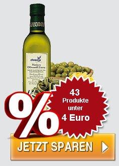 Feinkost für 1 Euro bis max. 4 Euro