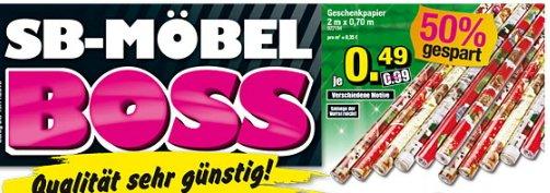 Weihnachts Geschenkpapier  @moebel-boss 0,49€