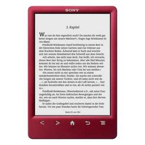 [Tchibo] eBook Reader PRS-T3S inkl. einem eBook ab 59,95 € // PVG: 99,00 €