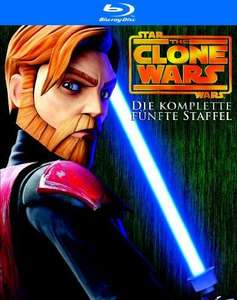 Star Wars: The Clone Wars - Die komplette fünfte Staffel [Blu-ray] für 34,97 Euro @ amazon.de