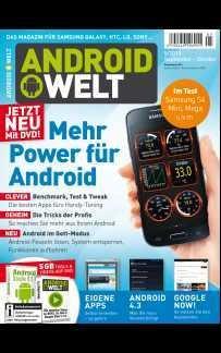 Android Welt, Androidwelt, Heft 5/13 September-Oktober, als PDF 27MB