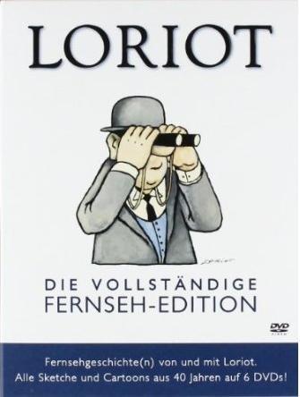 [AMAZON] Loriot-Die vollständige Fernseh-Edition auf 6 DVDs nur 26,97 Euro inkl. Versand