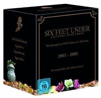 [AMAZON] Six Feet Under-Die komplette Serie auf 25 DVDs für 47,97 Euro inkl. Versand