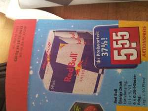 Rewe 6 x Red Bull Pack 5, 55 €! (0, 925 € pro Dose) zzgl. Pfand