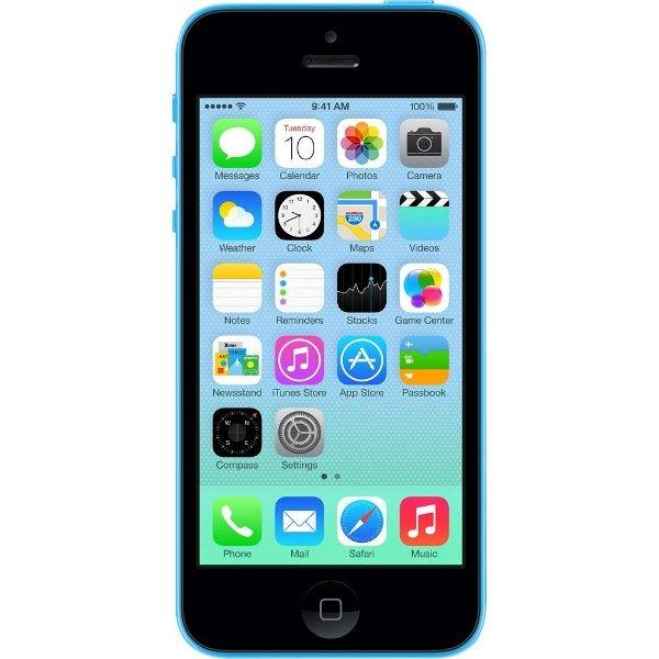 Apple iPhone 5C 16GB Blau und Weiß
