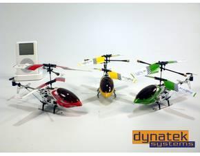 """Ferngesteuerter Mini-Helikopter """"Falcon-X"""" in gelb @MeinPaket.de"""