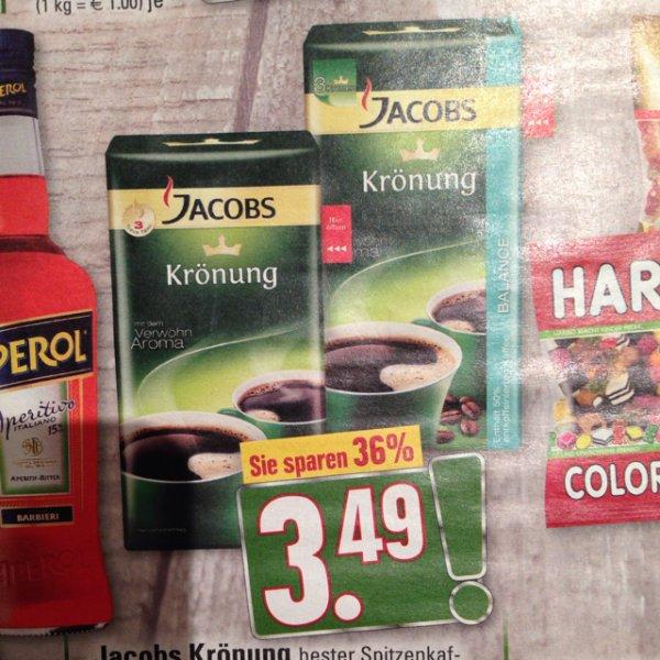 [lokal NRW evtl bundesweit] Jacobs Krönung verschieden Sorten je 500g Packung