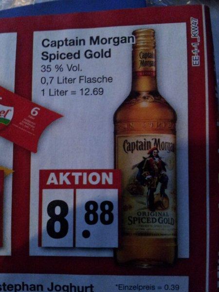 {Offline Regional Edeka} Captain Morgan Gold 0,7 L 8,88€