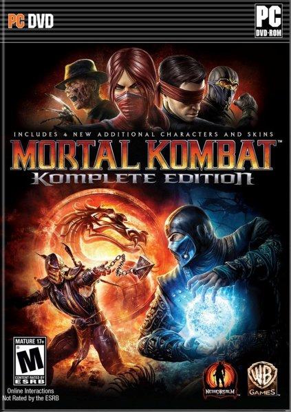 Mortal Kombat Komplete Edition Steam (Uncut Key)