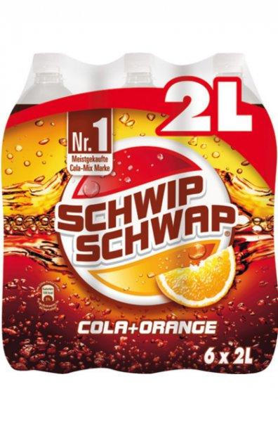 [Thomas Philipps Sonderposten] 6 x 2 Liter Schwip Schwap für nur 1 Euro zzgl. Pfand