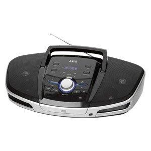 [real,-]  AEG Bluetooth-Soundmaschine SRP 4354 BT -  CD-Radiorecorder