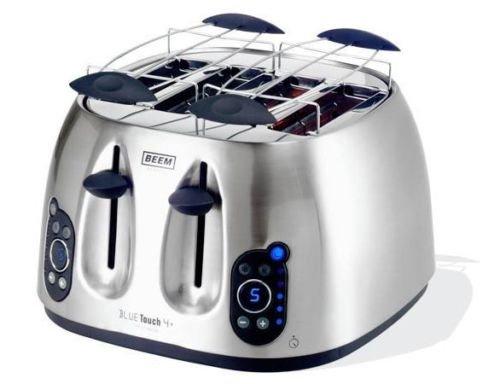 [EBAY WOW] BEEM Blue Touch 4+ Toaster (4 Schlitze, Countdown-Anzeige, Metall) für nur 29,99 Euro inkl. Versand