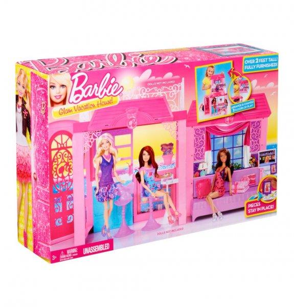 Barbie Design-Ferienhaus für 22,49€ versandkostenfrei bei @Galeria Kaufhof.de - nur heute