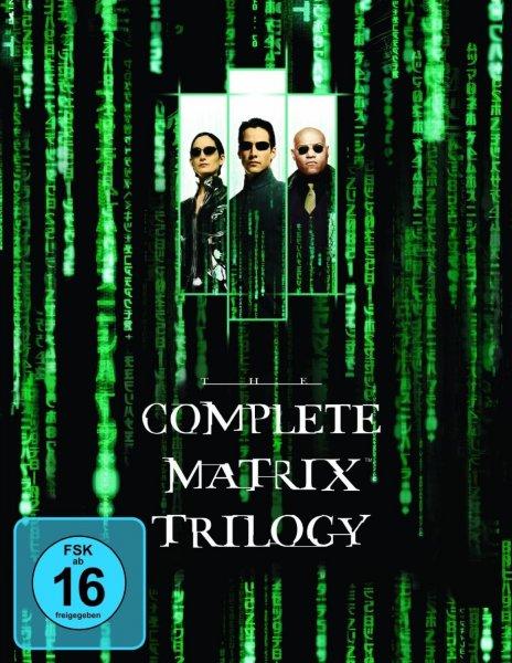 BluRay - MATRIX Trilogie 14,99€ Real
