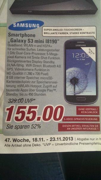 [Edeka Winterberg]  Galaxy S3 Mini 8GB für nur 155€