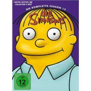 Simpsons - Die komplette Season 13 [Limited Edition] - nur 19,97€