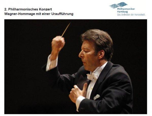 [Hamburg]2. Philharmonisches Konzert Wagner-Hommage mit einer Uraufführung
