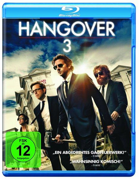 [Blu-Ray] Hangover 3 für 10€! + 3€ Versandkosten.