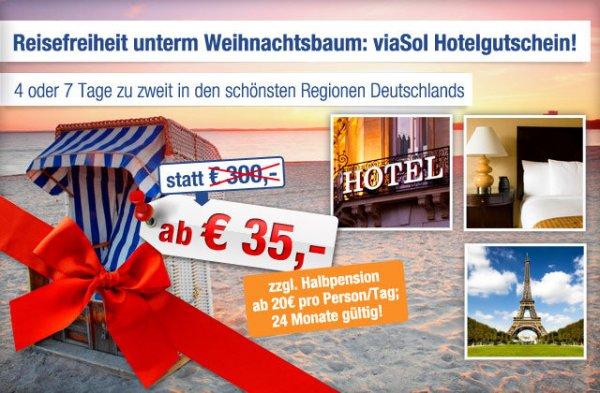 4 Tage Deutschlandweit - Ab in den Urlaub Deals