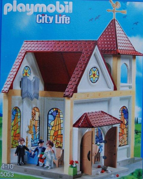 Playmobil™ - City Life: Romantische Hochzeitskirche (5053) ab €20,60 [@Galeria-Kaufhof.de]