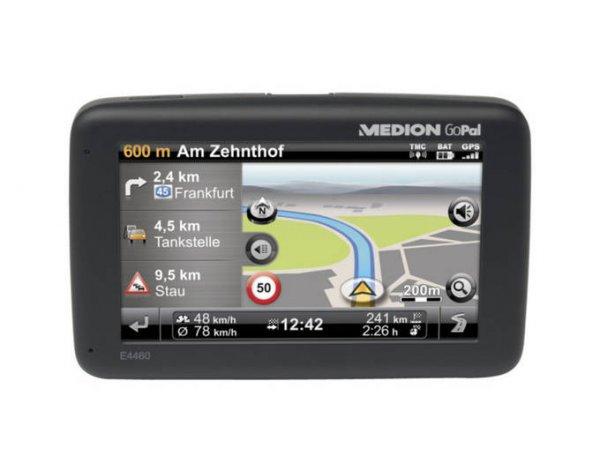 "Medion™ - Navigationssystem ""GoPal E4460 EU"" (4.3"" 480x272,Bluetooth Freisprechfunktion,TMC) [B-Ware] ab €48,27 [@Medion.de]"