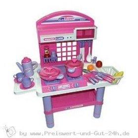 Kinderspielküche mit Licht, Sound und Geschirr