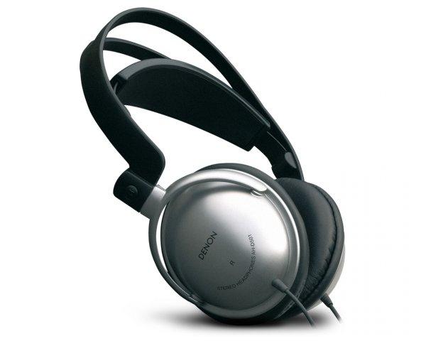 Denon AH D 501 Geschlossener Stereo-Hifi-Kopfhörer ( extrem leichtes Komfort Design ) silber o. Vsk  für 29 €  @ hifiversand24.de