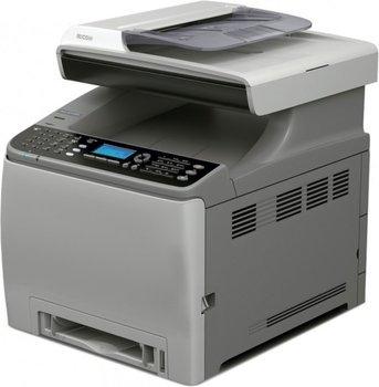 Ricoh C240SF Farblaserdrucker/-kopierer+Scanner+Fax durch Gutschein 204,66 Euro