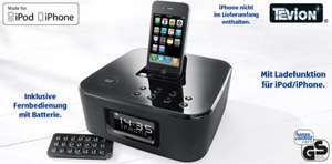 [Lokal] TEVION® Weckradio mit Dockingstation für iPod/iPhone