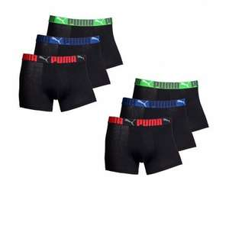 6 x Puma Boxershort in schwarz für 24,95€ inkl Versand