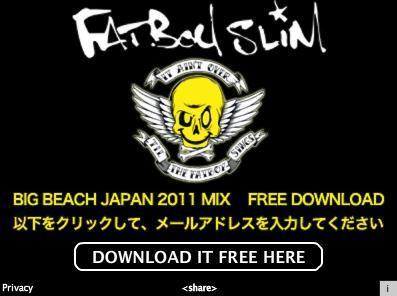 Fatboy Slim - Big Beach Japan 2011 Mix