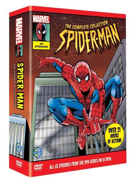 New Spider-Man – Complete Boxset [DVD] – 17,48 EUR [Amazon UK]