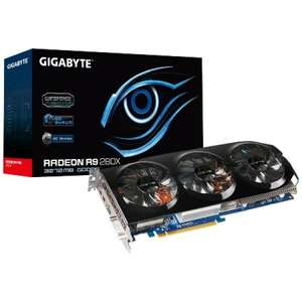 Gigabyte Radeon R9 280X, 3GB DDR5, PCI-Express