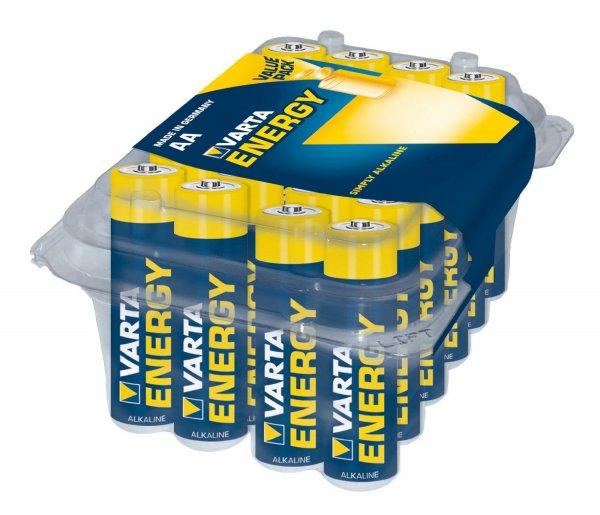 Varta Energy AA Mignon / AAA Micro Alkaline Batterien-Box (24-er Pack) für 2,99€ bei Penny