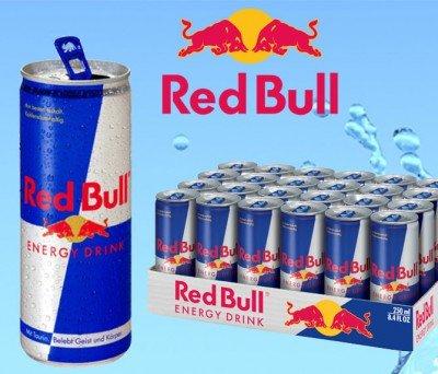 24 Dosen Red Bull für 22,90€ inkl. Pfand und Versand