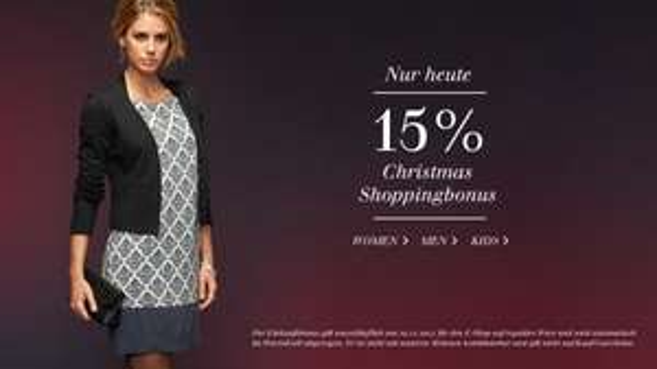 15% im TOM TAILOR Online-Store