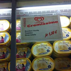 [Lokal HH] Cremissimo 1,50€ Langnese outlet