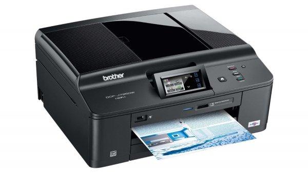 Brother DCP-J725DW Tintenstrahl-Multifunktionsgerät (Farbdrucker, Duplex, WLAN)  @expert-technomarkt.de 100,99€