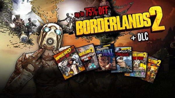[STEAM] Borderlands 2 Franchise @ Green Man Gaming