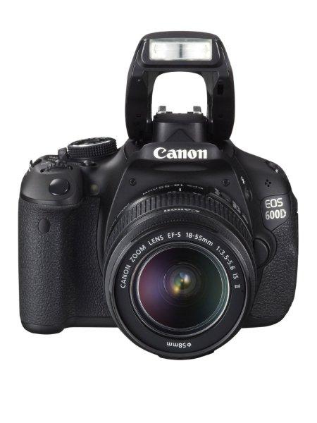 Canon EOS 600D Kit mit 18-55 mm IS II + Canon EF 40mm f/2.8 STM für  ~502 € @Amazon.co.uk