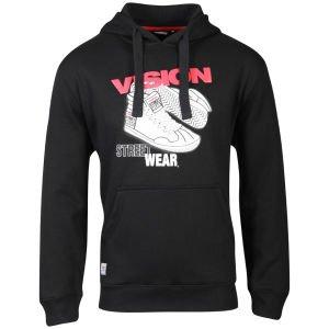 Vision Men's Sneaker Hoody - Black