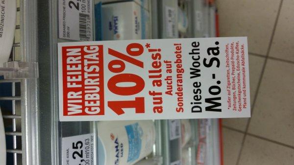 [Lokal ] 10% auf alles bei Rossmann in Frankfurt